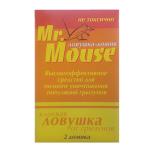 Домик Mr.Mouse  клеевой от грызунов  (2шт)
